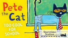 Pete the Cat: Too Cool for School By James Dean & Kimberly Dean - Books ...