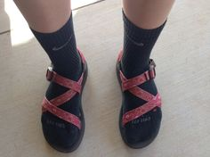 Nike socks and chacos! Nothing gets better!