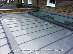 zinc flat roof extensions - Google Search