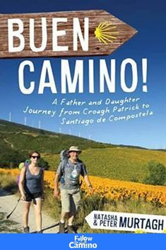 #CaminoBook This is a beautiful book written jointly by a father and daughter who embarked together on a spiritual journey along the Camino Francés from St Jean Pied all the way to Finisterre. They started their adventure in Ireland by walking up Croagh Patrick on St James Day, 2010. When Peter found two scallop shells near the sea, he and his daughter attached them to their backpack and officially proclaimed themselves to be pilgrims. More info: Got Books, Books To Buy, Books To Read, The Camino, Camino Walk, Spiritual Transformation, Thing 1, Saint James, What To Read