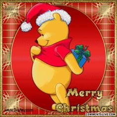winnie christmas quotes | Christmas Winnie The Poo picture