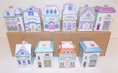 Lenox 1989 Porcelain Spice Village Choice of 10 Different Designs with Free Ship #Lenox