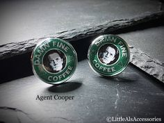 A personal favourite from my Etsy shop https://www.etsy.com/uk/listing/546445364/twin-peaks-cufflinks-mens-cufflinks-owl