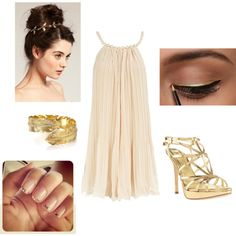 Something I would wear if I ever go to a toga party :D very gorgeous