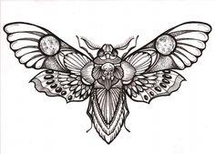 "Awesome ""deaths head"" hawk moth tattoo design                                                                                                                                                                                 More"