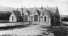Tour Scotland Photographs: Old Photograph School Gartly Scotland