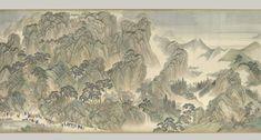 The Kangxi Emperor's Southern Inspection Tour, Scroll Three: Ji'nan to Mount Tai (1698)