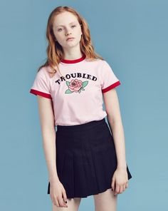 Lazy Oaf Troubled T-shirt - Everything - Categories - Womens