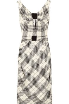 Retro Plaid Dress / Zac Posen love this. Unique and 50's style