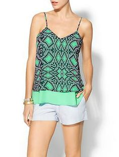 Collective Concepts Tile Print Cami from Piperlime