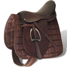 Horse Riding Saddle Set Real Leather Brown Blanket Stirrups Belt Girth NEW Equestrian Boots, Equestrian Outfits, Equestrian Style, Equestrian Fashion, Saddle Leather, Cow Leather, Real Leather, Horse Riding, Riding Boots