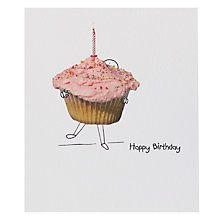 Buy Portfolio Fairy Cake Birthday Card Online at johnlewis.com