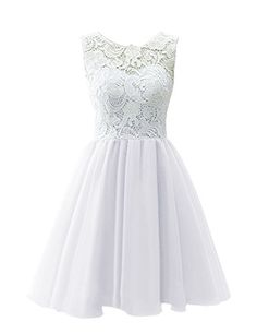 Dresstells® Women's Short Tulle Prom Dress Dance Gown with Lace White Size 24W Dresstells http://www.amazon.com/dp/B00R2MU2RU/ref=cm_sw_r_pi_dp_5khFvb029H8RK