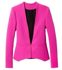 Diane von Furstenberg Illene Crepe Blazer - ShopBAZAAR
