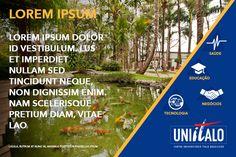Sugestão de post para as redes sociais da universidade Uniítalo