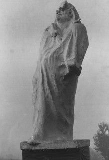 'Monument to Balzac' (Plaster model) by Auguste Rodin. 19th century. Paris, France.