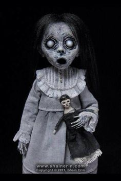 Haunted Doll...scary doll...yikes..