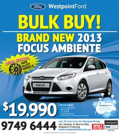 Page not found - Westpoint Ford 2013 Focus, Ford Specials, Special Deals, Brand New