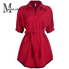 Like and Share if you want this  Casual Shirt Dresses Black Red Women Summer Dress 2017 New Arrivals Fashion Polar Collar Short Sleeve Ladies Dress Plus Size     Tag a friend who would love this!     FREE Shipping Worldwide     Buy one here---> http://www.pujafashion.com/casual-shirt-dresses-black-red-women-summer-dress-2017-new-arrivals-fashion-polar-collar-short-sleeve-ladies-dress-plus-size/