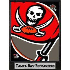 Encore Select 2011 Tampa Bay Buccaneers Logo Plaque