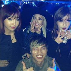 "Dara's instagram: ""With our human vitamin Daesungie!!! :)"""