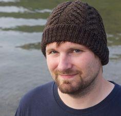 free antler hat knit pattern