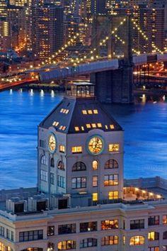 New York, la casa nell'orologio: la vista è mozzafiato