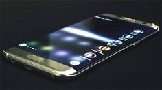 The Samsung Galaxy S7 Edge Display has curved edges on both sides,it's wider at 550 pixels allowing a double row of apps