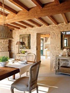 Una casa rústica, mezcla de tradición y modernidad · ElMueble.com · Casas - other - Dec - Eva Emmanuel