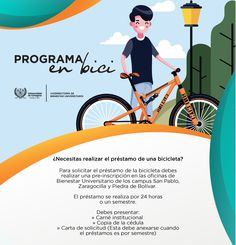 Programa en Bici #Unicartagena #Bienestar San Pablo, Ecards, Memes, Movie Posters, Senior Boys, Cartagena, Wellness, Universe, Activities