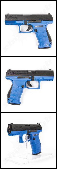 VFC Walther PPQ M2 Softair Pistole Deep Blue Edition Kal. 6mm - max. 1J   - Gas…Find our speedloader now!  http://www.amazon.com/shops/raeind