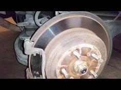 2003-2008 Honda Pilot SUV - Checking Rear Disc Brakes - Rotor, Caliper, Bracket, Pads - YouTube