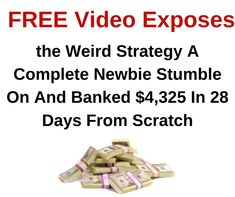 FREE Video Course Exposes How One Newbie Earned $22,397 in less than 24 Hours   #howtomakemoney #makethatmoney #workathome #workfromhome #homebusiness #internetmarketing #onlinejobs #coronawirus #lockdown #stayhome #pandemic #quaratine #facemask #ppe #KN95 #N95 #Covid19 #stayathome Online Cash, Online Jobs, Make Money Online, How To Make Money, Internet Marketing Course, Online Marketing, Home Based Business, Improve Yourself, Day