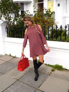 Niomi Smart | The Perfect Autumn Dress http://www.niomismart.com/2014/09/the-perfect-autumn-dress.html