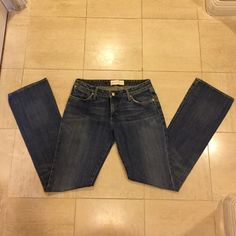 PaperDenim&Cloth jeans Gently used, excellent condition, straight leg jeans. Paper Denim & Cloth Jeans