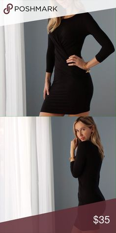 🆕Carmine Mini | Black ◽️The Carmine Mini is a sexy party dress perfect going into the Holidays 💃 This is a HOT dress 💋 Front detailing is very flattering on the tummy and clinches the waist. Dress is unlined and very easy to move in. The material is incredibly curve hugging and stretchy, soft and sleek. Poly/spandex. Brand new. Seamless thong under is best or wear with my Dress Slip also for sale.  ▫️Sizes available: S M L ▫️I am modeling size S ▫️Price is firm 📷 Photos are my own…