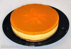 Mango Cheesecake (No Bake & Eggless) - Hilda's Touch Of Spice