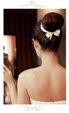 African American. Black Bride. Wedding Hair. Natural Hairstyles. Wedding Hairstyle: Sleek Updo