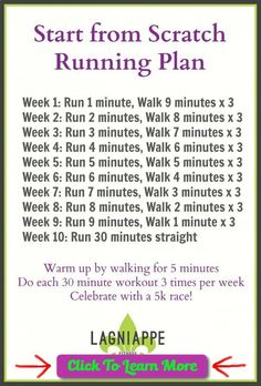 cool Start from Scratch Running Plan | Lagniappe Fitness #health #fitness #weightloss #healthyrecipes #weightlossrecipes