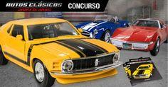 Ganá una colección completa de Autos Clásicos Americanos