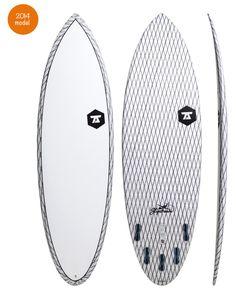 2014 7S Slipstream Fish Surfboard Clear