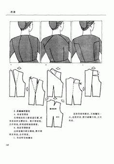 Chinese method of pattern making- Darts on a bodice - SSvetLanaV - Picasa Albums Web