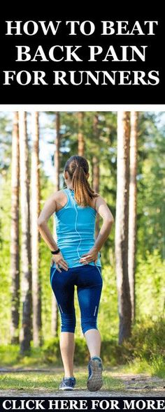 s a runner, it's not unusual to experience some back pain at one point or the other.  Why Am I so Certain?  Well, back pain, especially lower back pain, is one of the most widespread conditions in the world.  That's why dear reader, I decided today to share with you some of my best tips and guidelines on treating and preventing back pain while running. http://www.runnersblueprint.com/runners-how-to-treat-prevent-back-pain/ #Back #Pain #Fitness #Running