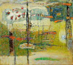 """Another World Inside"", 2013 Oil on Canvas - Rick Stevens"