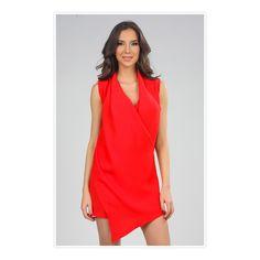 Magnifique robe rouge #CarlabyRozarancio #eboutic #ventesprivees