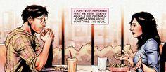 New 52 Superman And Lois Lane, New 52, Clark Kent, Dc Comics, Memes, Triangle, Meme