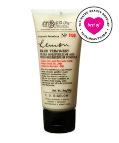 Best Hand Cream No. 5: C.O. Bigelow Lemon Hand Treatment, $16