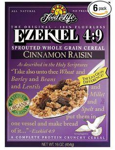 Organic Sprouted Grain Cereal, Cinnamon Raisin