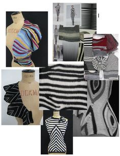 """Take your machine knitting to the next level! Take the traditional, experiment and make it contemporary!  """"Many different fashion designers ..."""