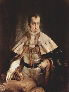 File:Francesco Hayez - Ritratto dell'imperatore d'Austria Ferdinando I d'Asburgo. (1840)